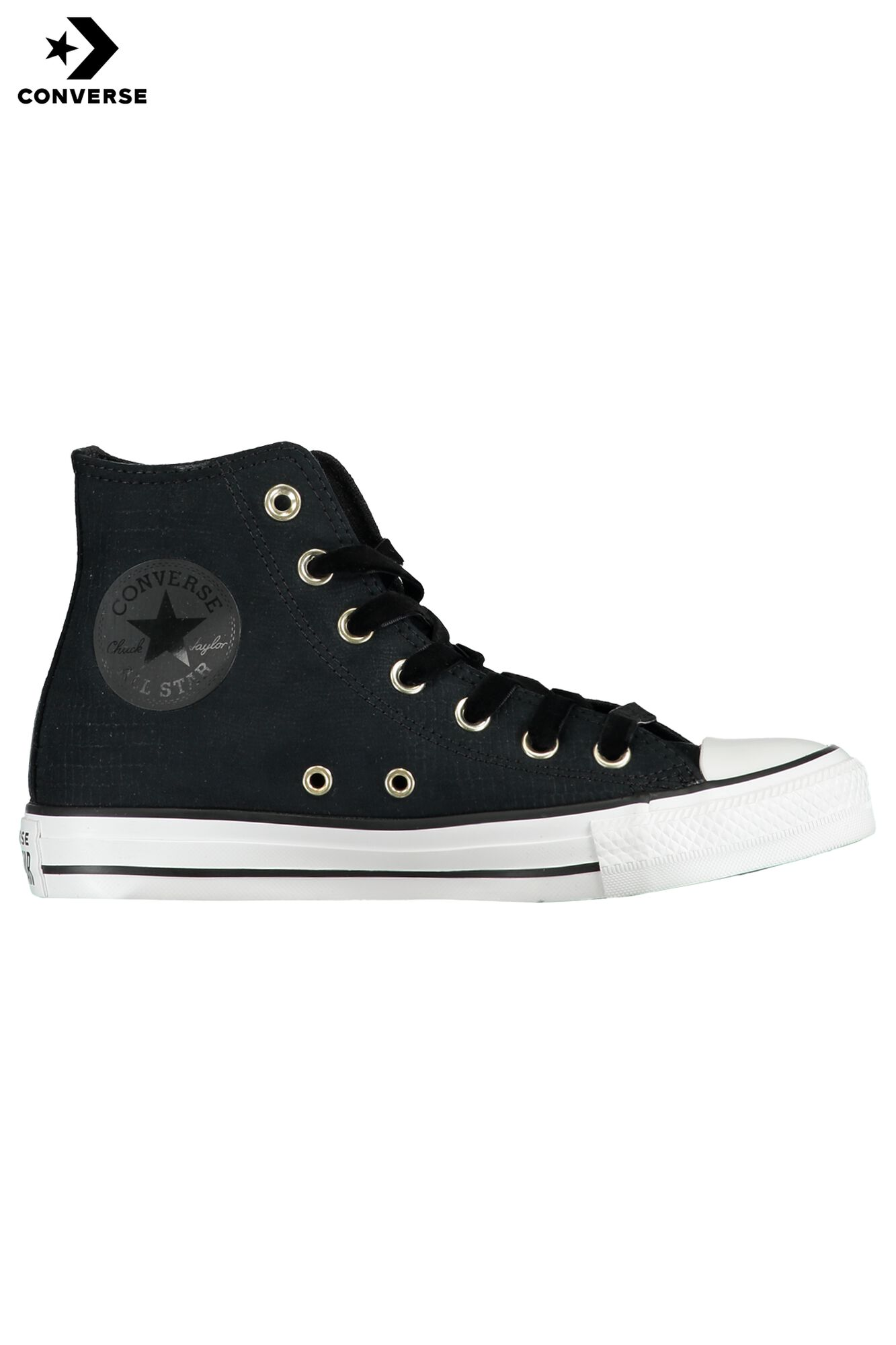27ee5b3865a1 Women Converse All Stars Chuck Taylor- HI Black Buy Online