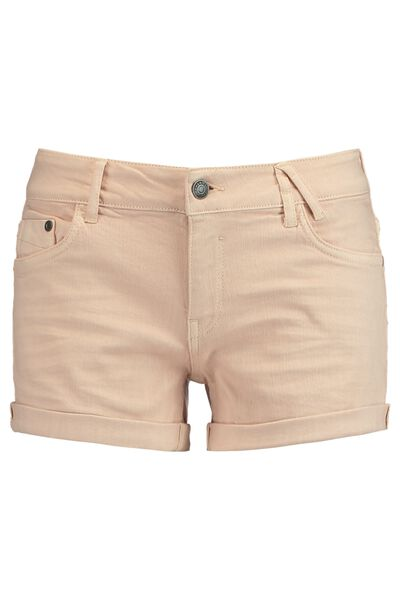Denim short Lacey colored