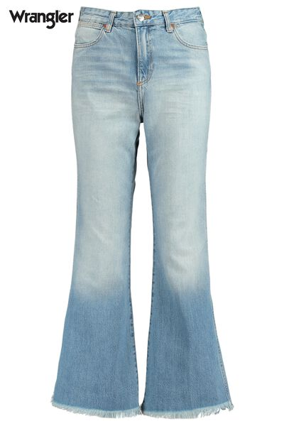 Jeans Wrangler Crop Flare