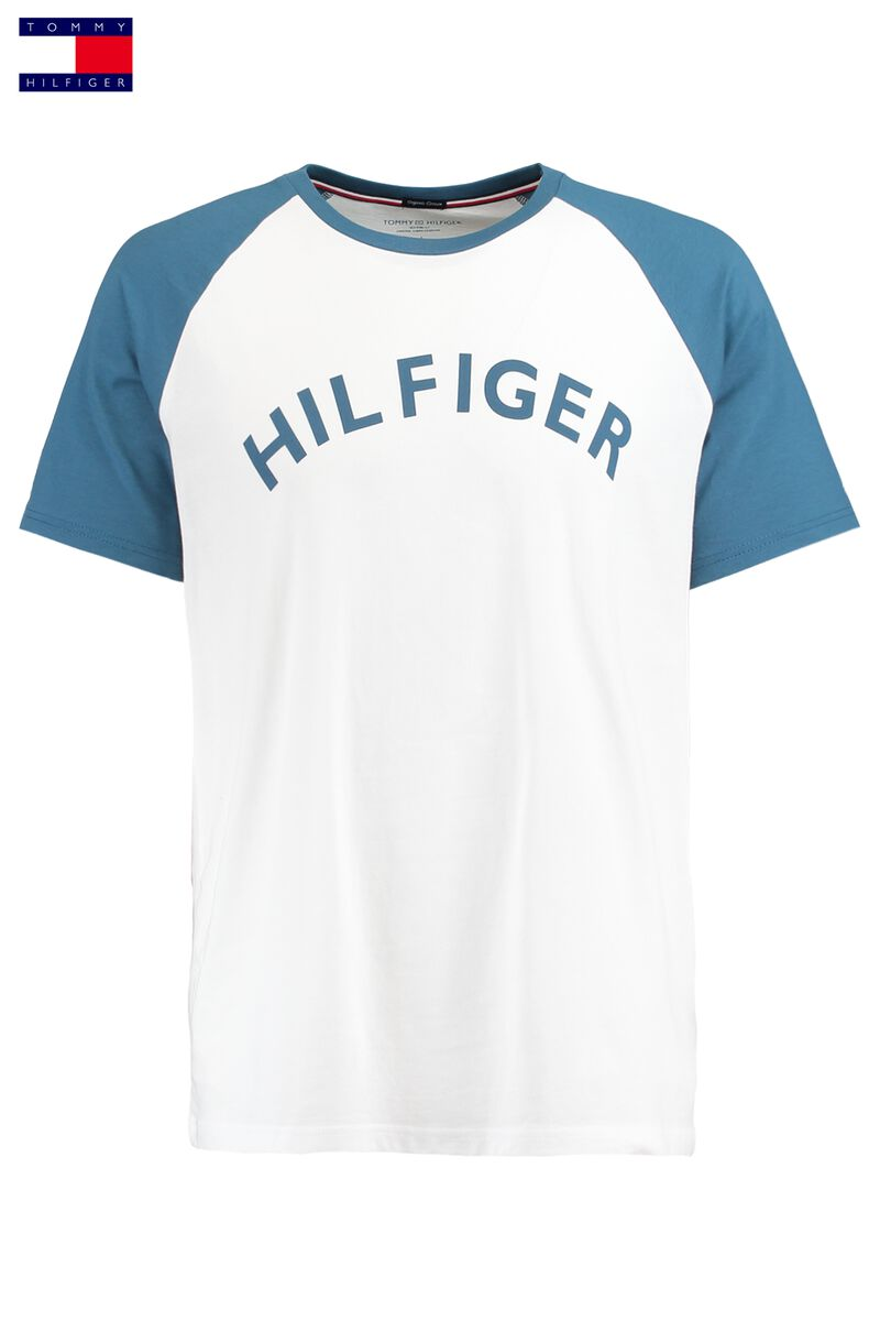 18d06385c0333 Men T-shirt Tommy Hilfiger White Buy Online