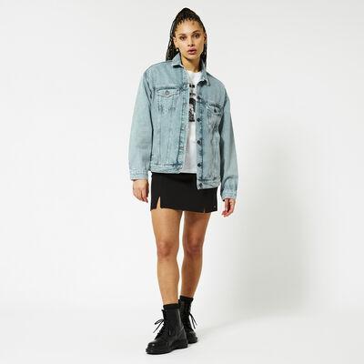 Denim jacket oversized fit