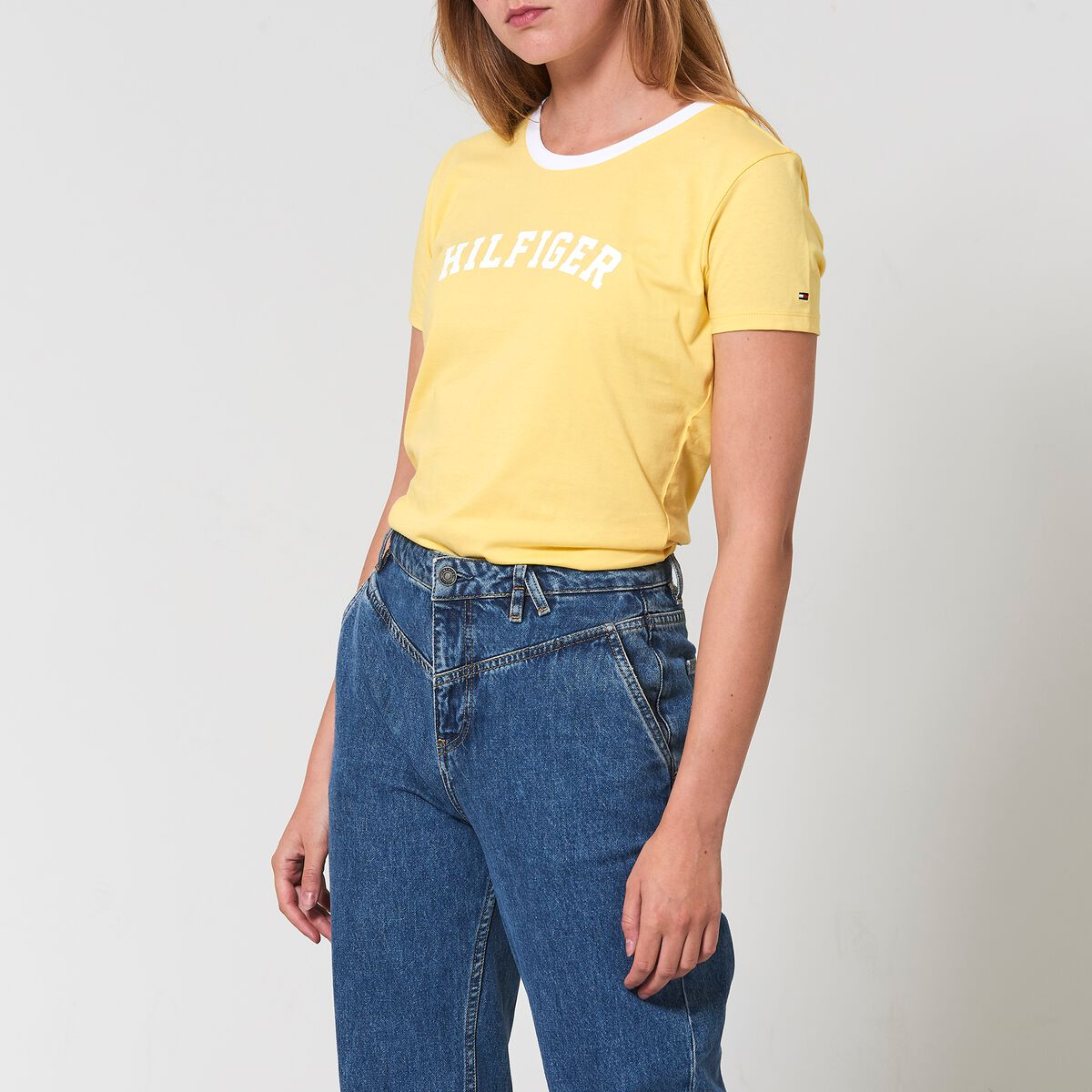 9fecd6531 Women T-shirt Tommy Hilfiger Yellow Buy Online