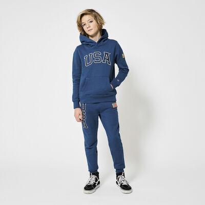 Pantalon de jogging USA à imprimé