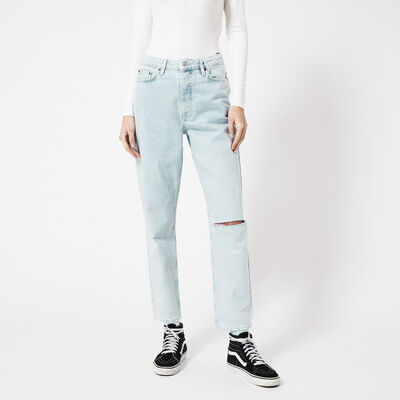 Jeans tapered high waist