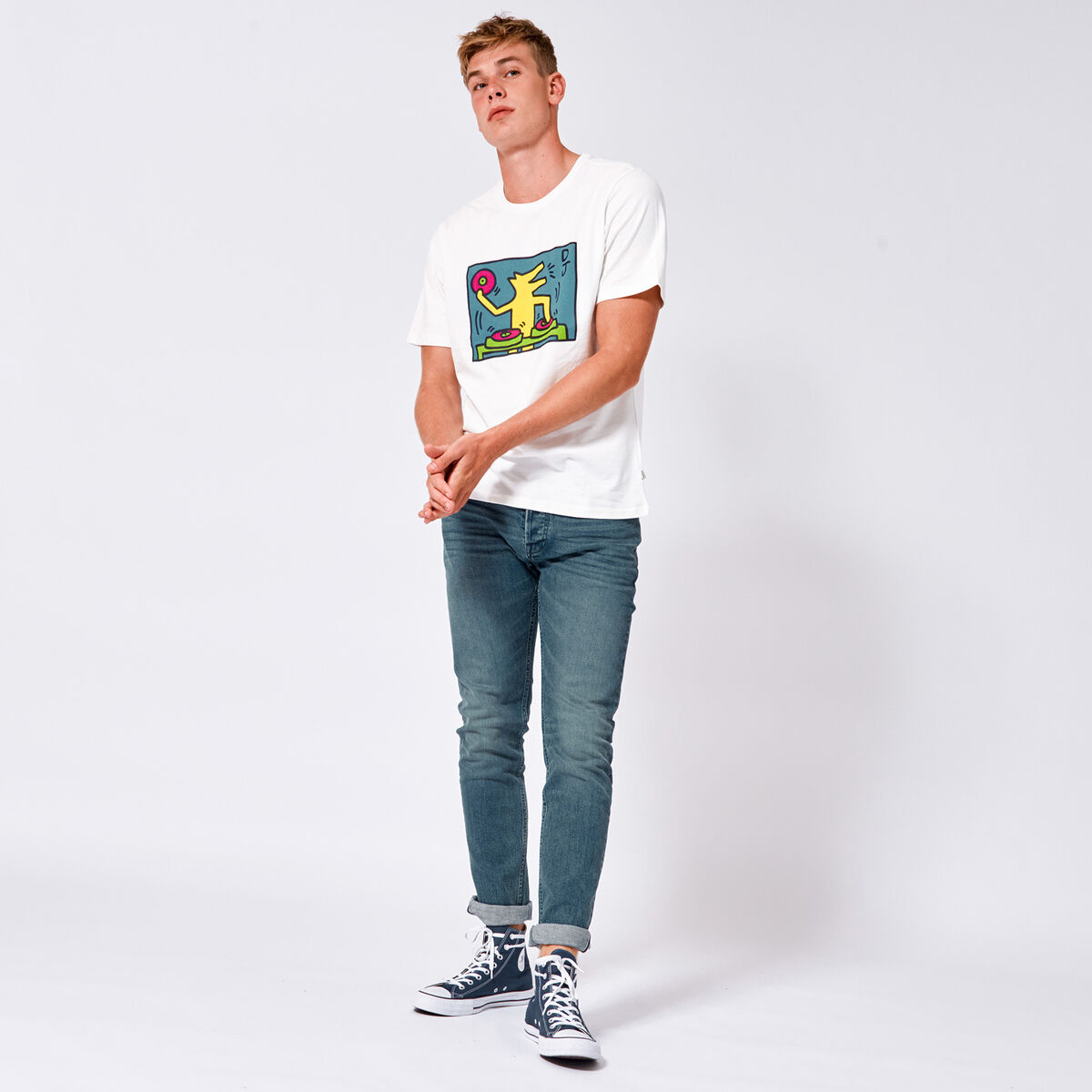 T-shirt Esai Dog DJ