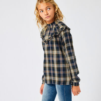 Blouse Bowdy check