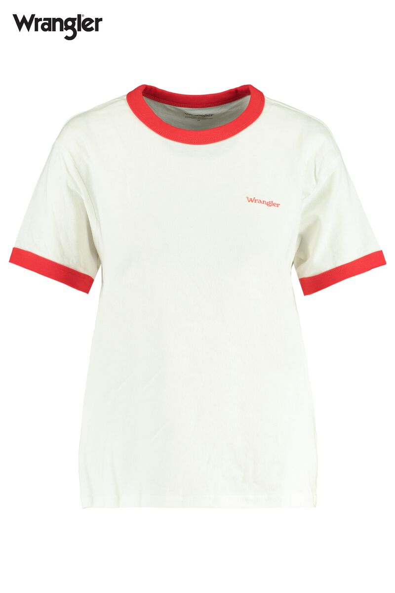 T-shirt Relaxed ringer