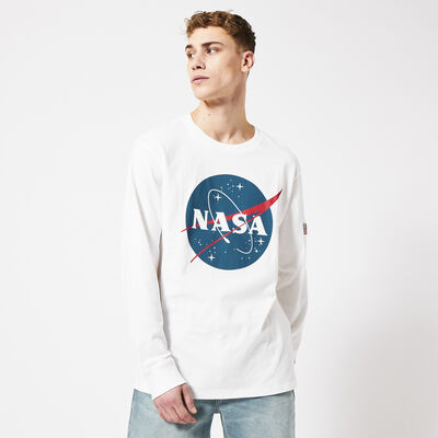Long sleeve with NASA embroidery