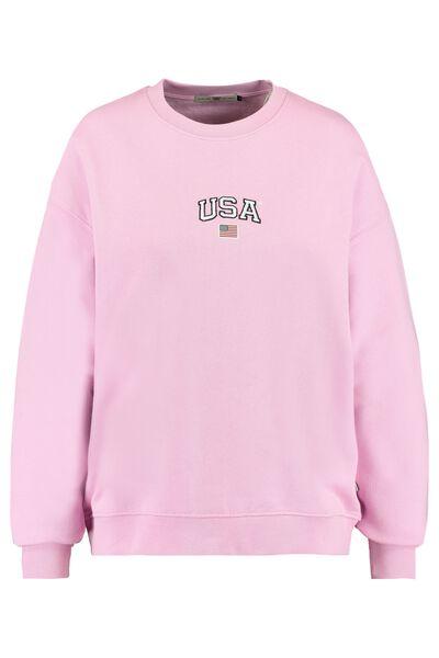 Sweater met USA borduring
