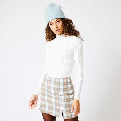 Pullover Rippstoff
