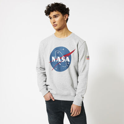 NASA sweater met ronde hals