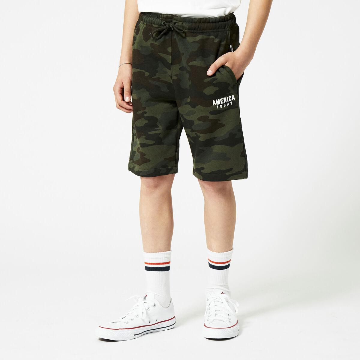 Sweat short Nat camo Jr