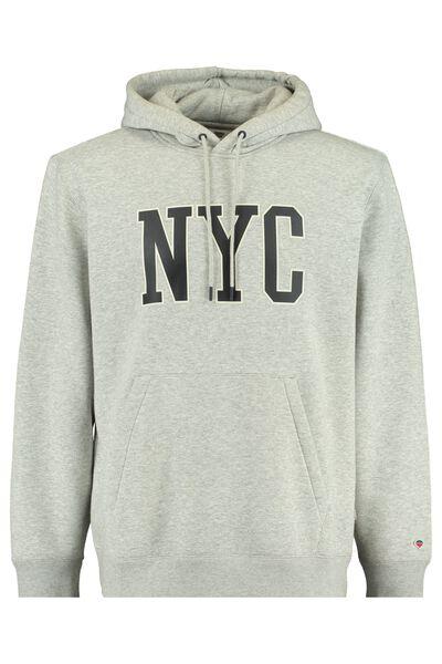 Hoodie met NYC print