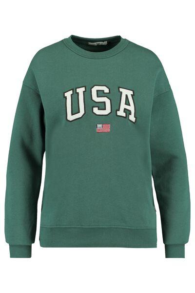 Sweater met tekstopdruk 100% katoen