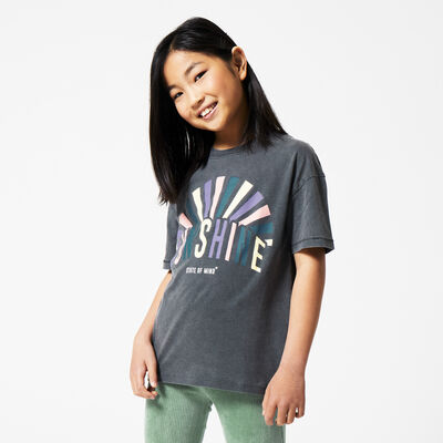 T-shirt with text print