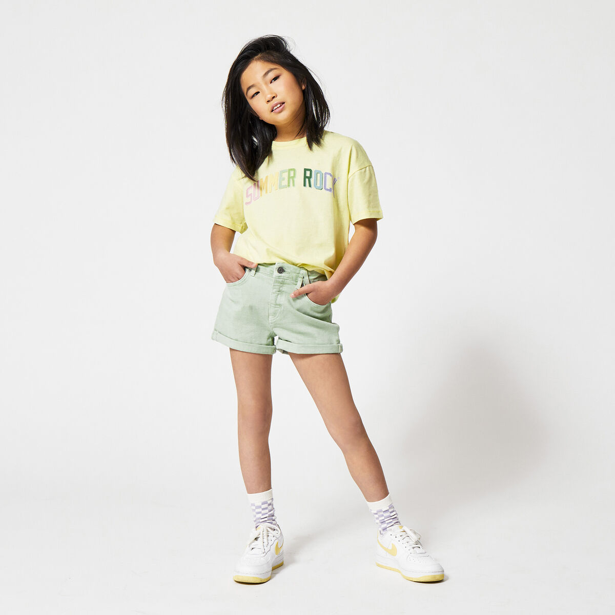 Denim short Lucy Jr