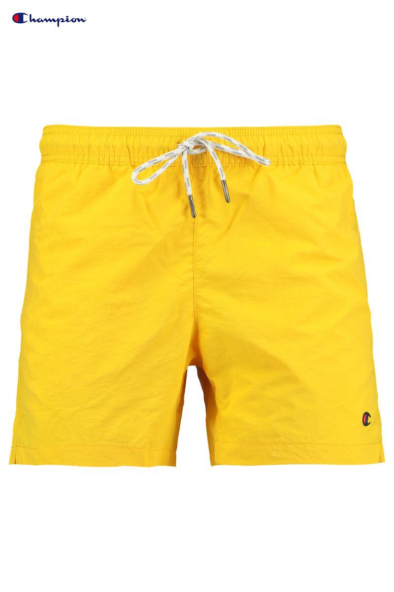 Zwembroek Short.Heren Zwembroek Champion Beach Short Geel Kopen Online