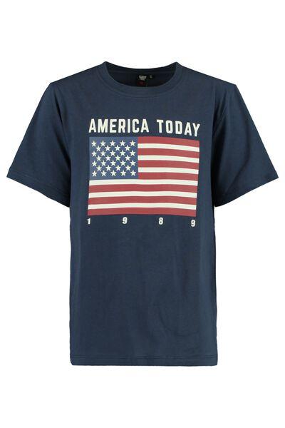 T-shirt print flag