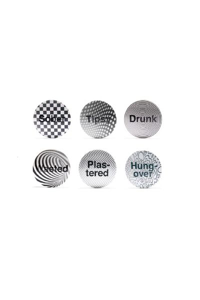 Gift Drunk 3D Coasters