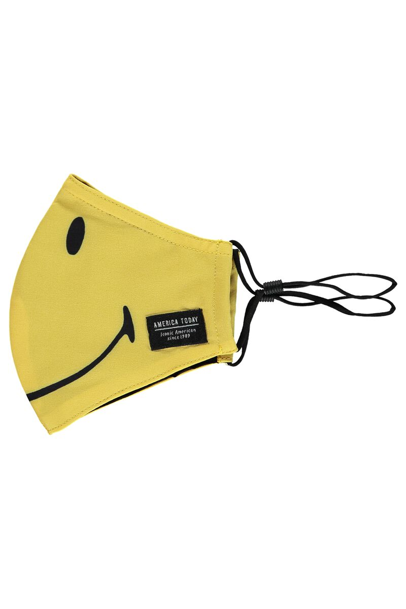 Schutzmaske Face Mask Smiley