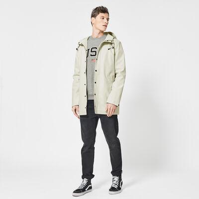 Raincoat men medium length