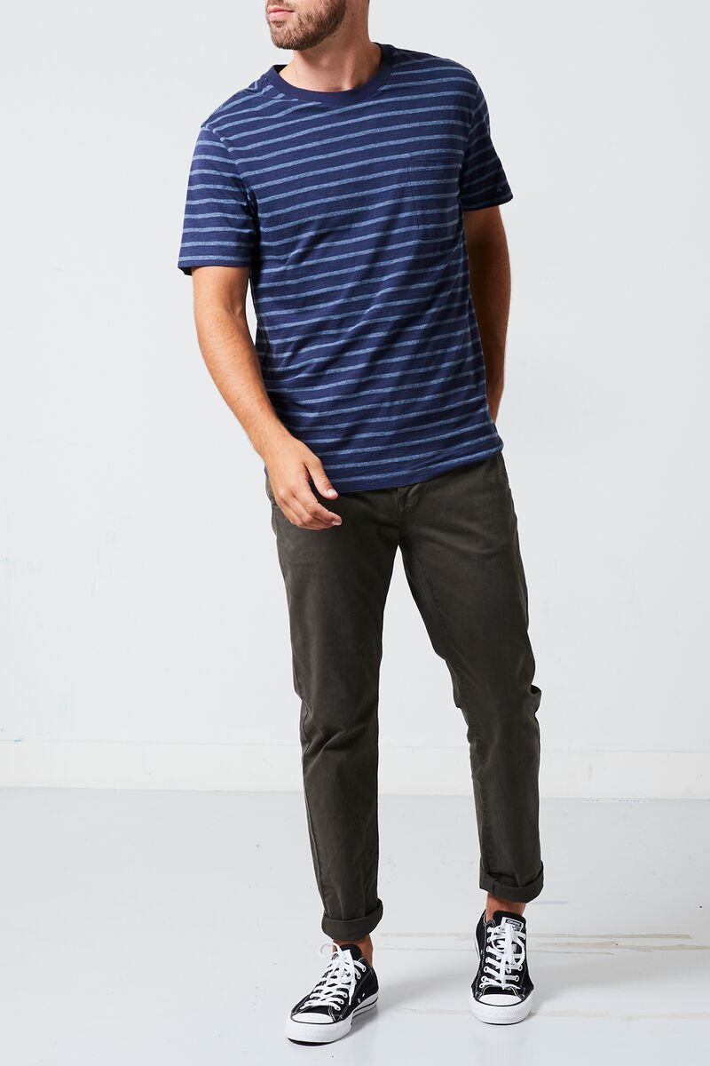 T-shirt Enzo stripe