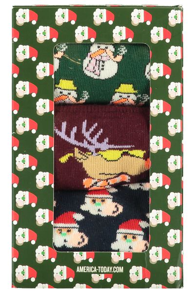 Chaussettes 3Pack Xmas