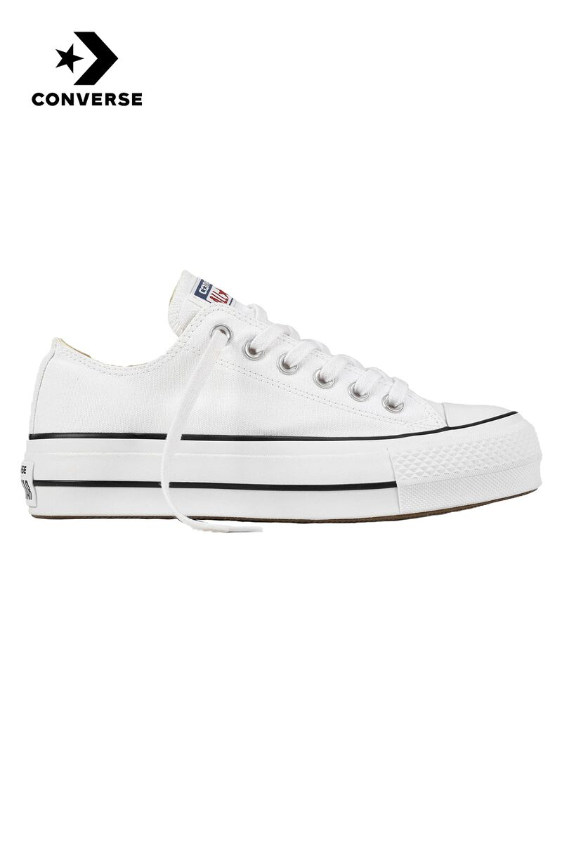 d5418971213d6 Women Converse All Stars OX Lift White Buy Online
