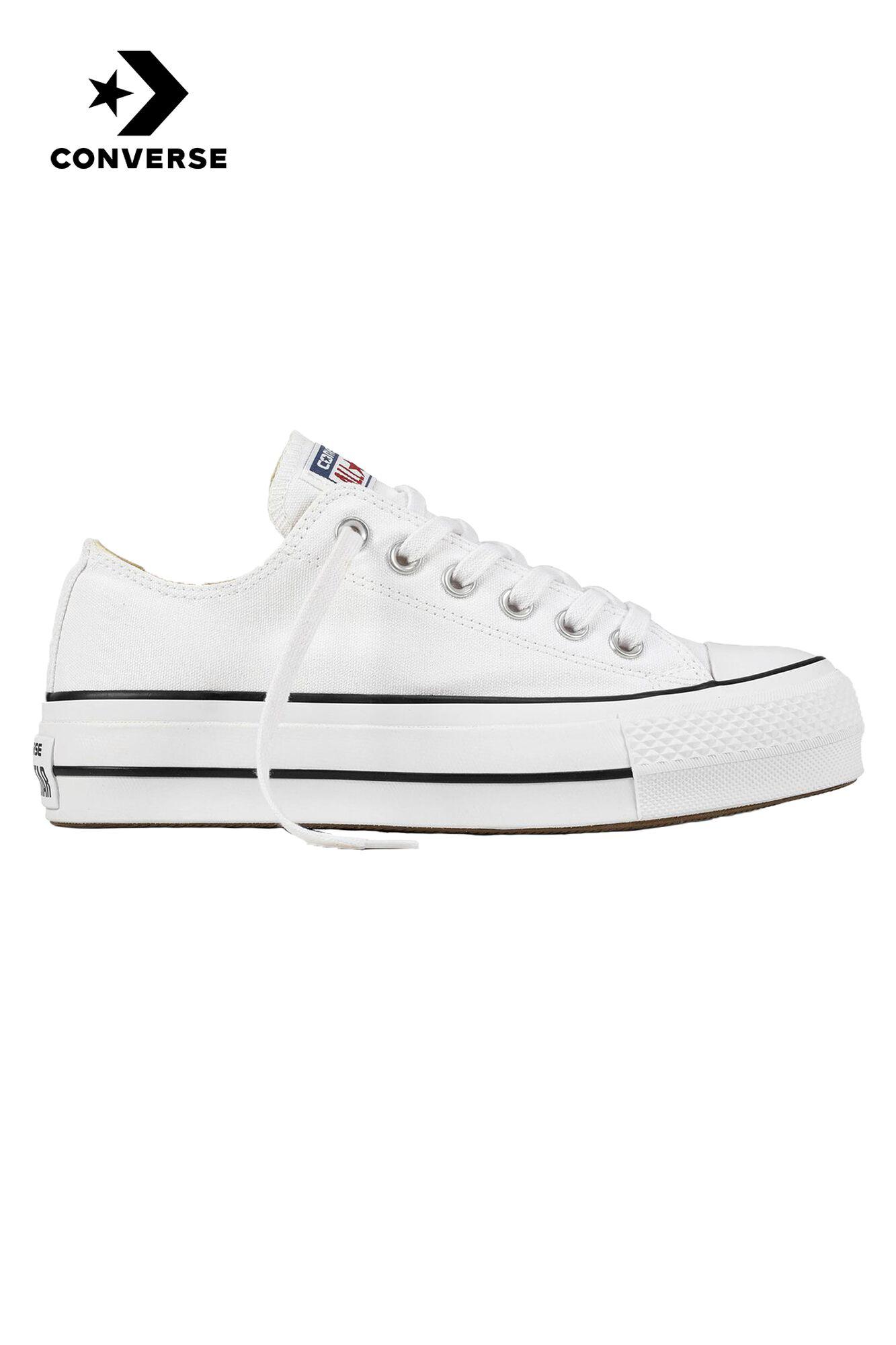0d873532846461 Women Converse All Stars OX Lift White Buy Online