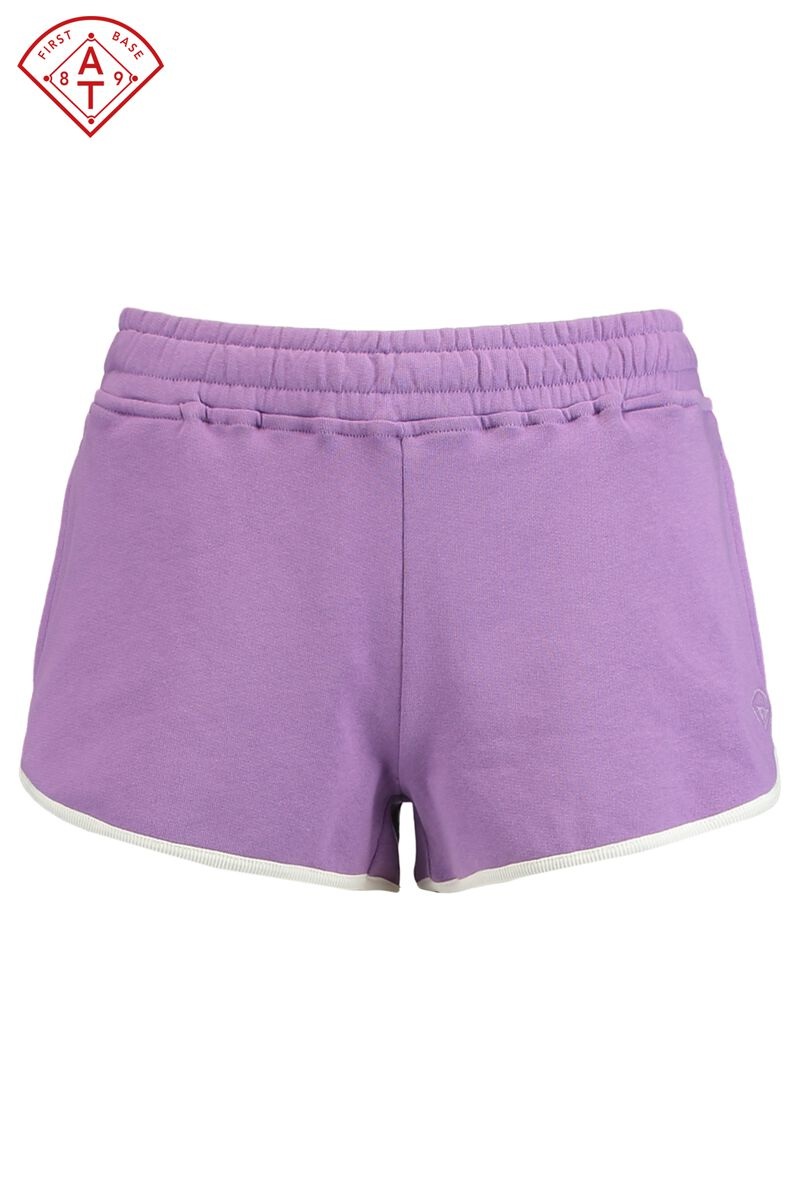 85ee1fb1c7b68d Dames Sweat short Nancy Paars Kopen Online