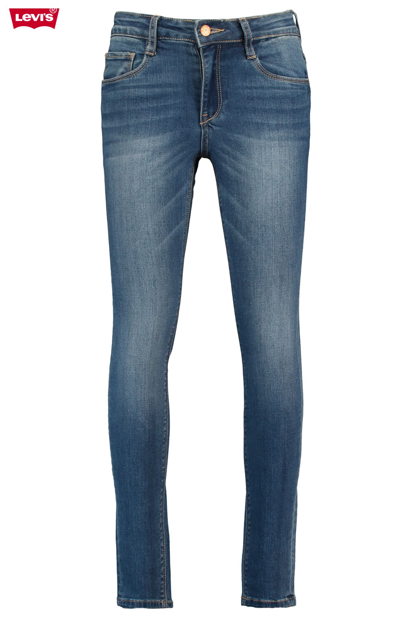 0329b5c2ef777 Girls Jeans Levi s 721 Skinny high rise Blue Buy Online