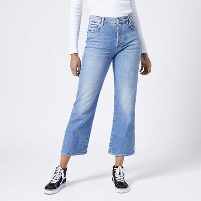 High waist jeans straight leg
