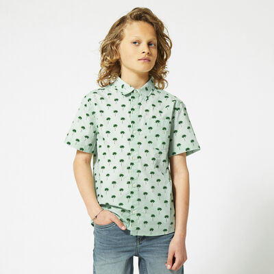 Blouse all-over print