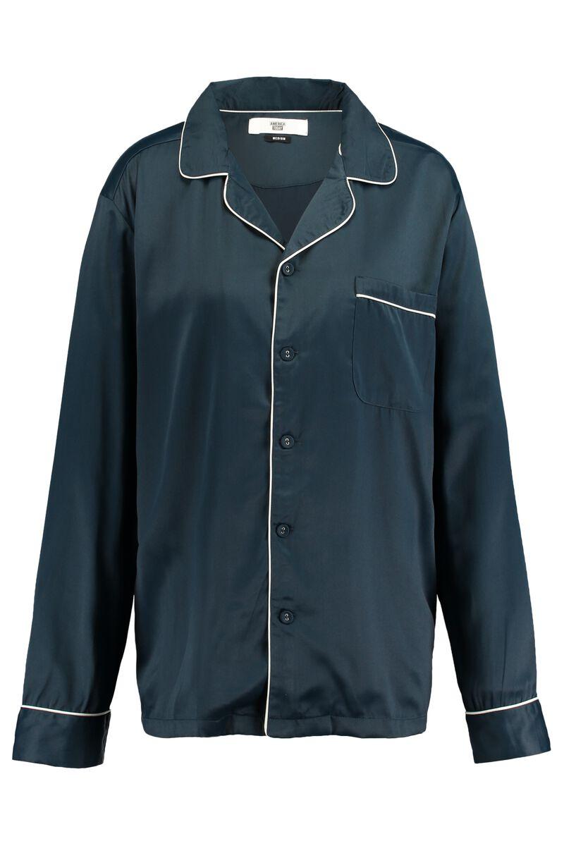 c80d61e5bd9 Heren Pyjama top Hugh Blauw Kopen Online