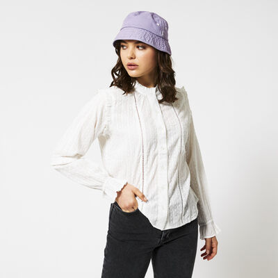 Blouse with longsleeves