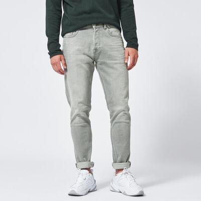 Slim fit jeans knoopsluiting