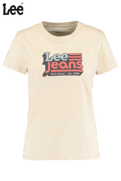 T-shirt Lee Crew neck tee
