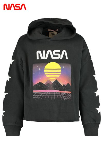 Sweat a capuche à imprimé NASA