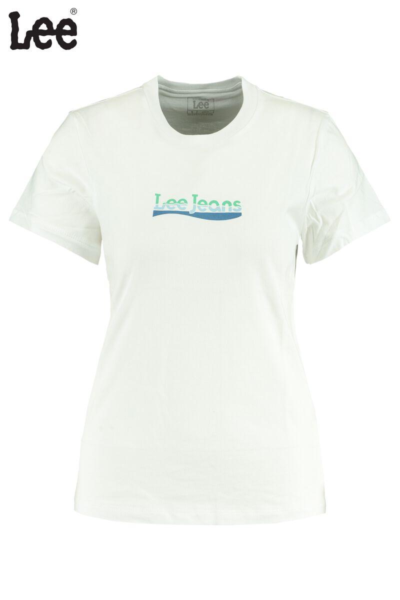 T-shirt Slim Logo Tee White