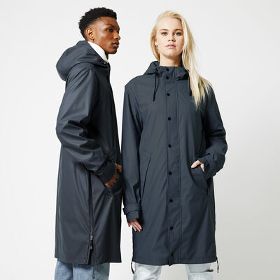 Unisex Long raincoat made of recycled polyester lined