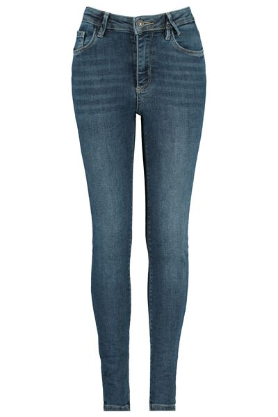 Jeans high waist stretch