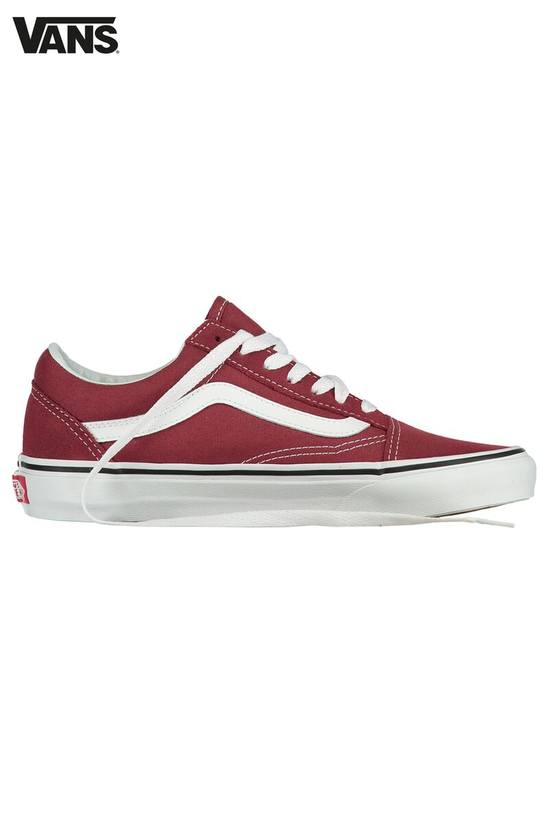 Women Vans UA OLD SKOOL Red Buy Online  4697e1c53f4