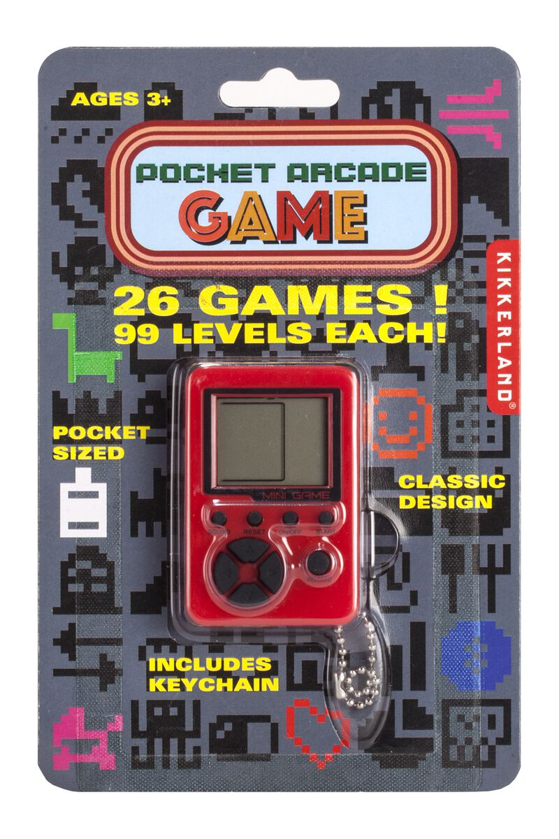 Gift Pocket Arcade Game
