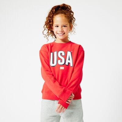 Sweat-Shirt USA Print