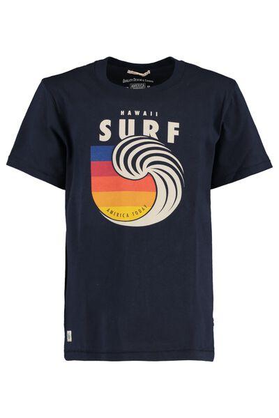 T-shirt Hawai Surf print