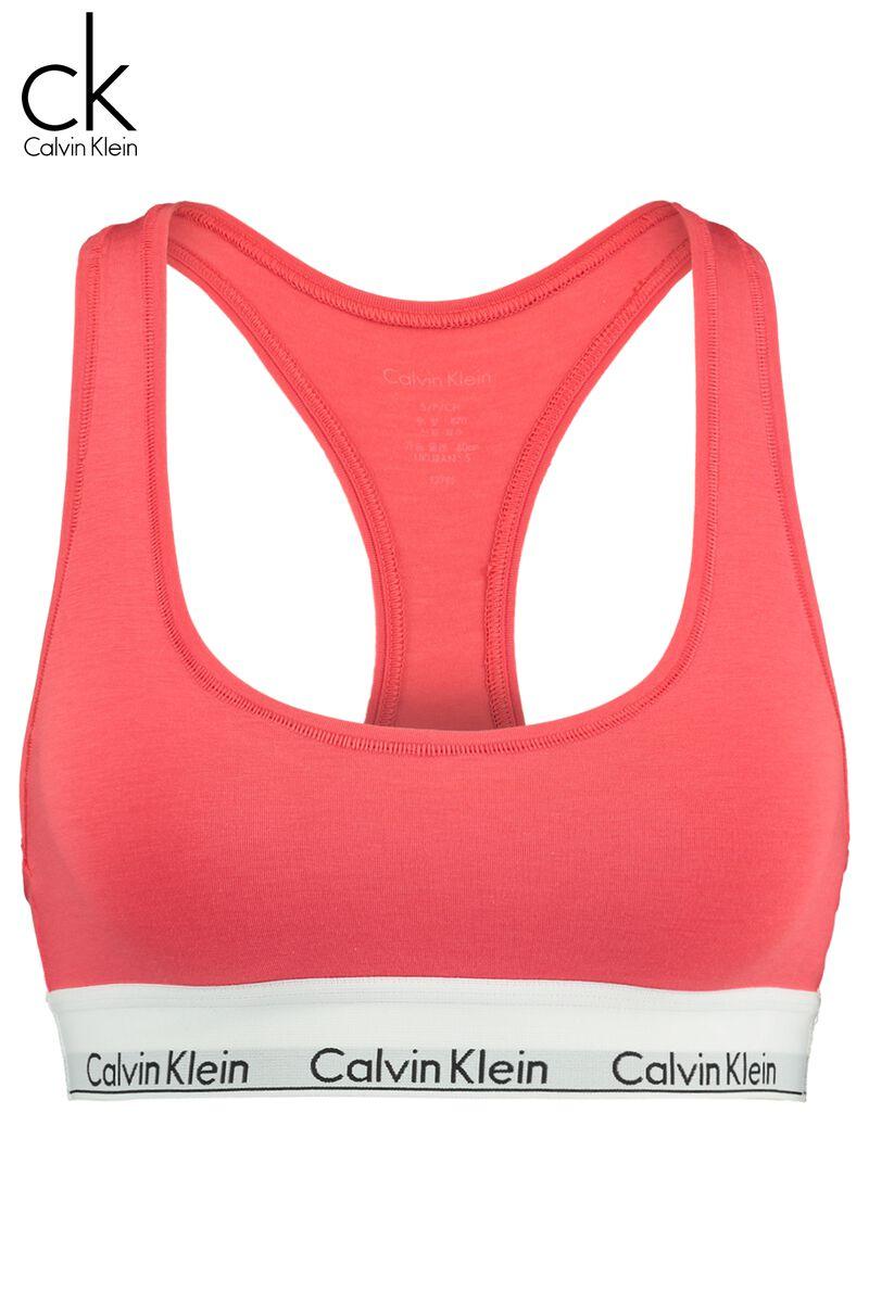 cecfee81cb8c Women Bralette Calvin Klein Unlined Red Buy Online