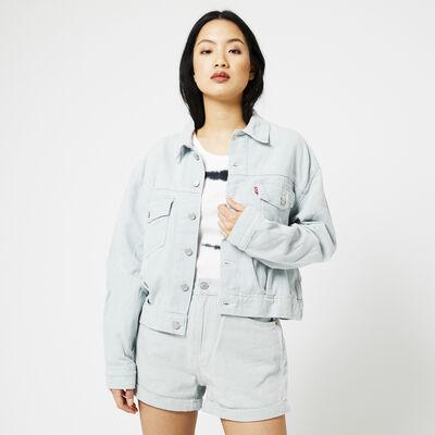 Levi's denim jacket oversized