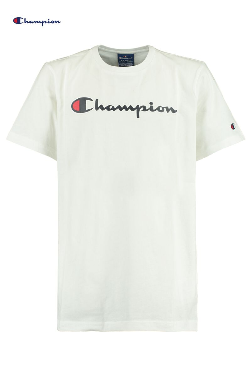 T-shirt Tee Champion logo