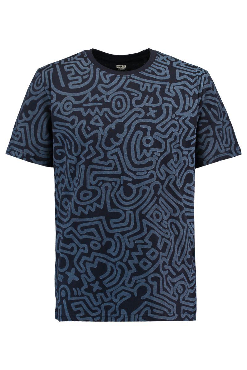 T-shirt Esai AOP