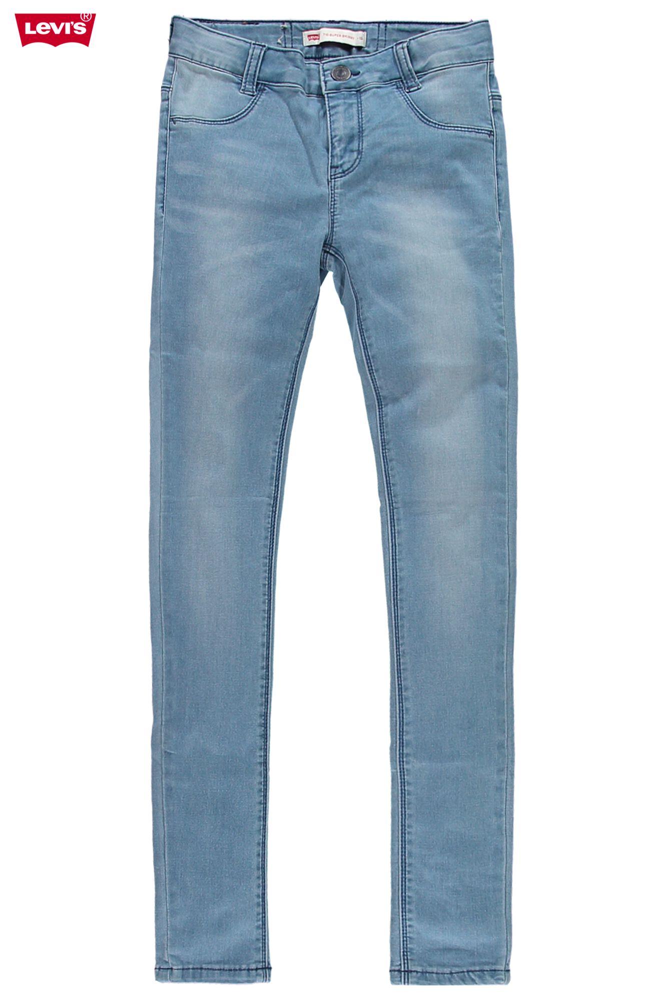 Durchsuchen Sie die neuesten Kollektionen unglaubliche Preise großes Sortiment Girls Jeans Levi's 710 Super skinny Blue Buy Online